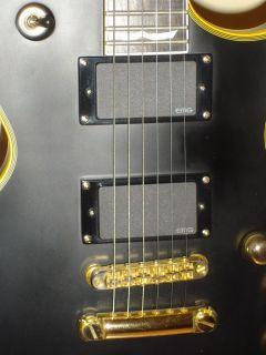 ESP EC 1000 LTD Deluxe Electric Guitar Vintage Black / Gold Emg Gibson
