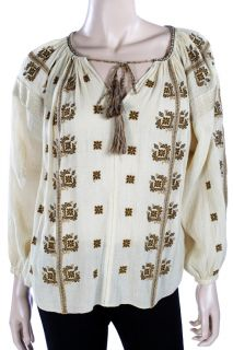 Etoile by Isabel Marant Haute Top Buny in Creme