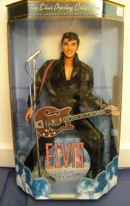 elvis presley collectable doll mattel new