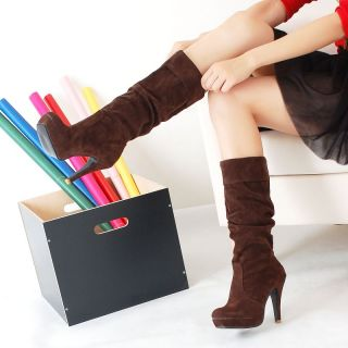 Womens Sexy Boots High Heels Shoes AU Size A124