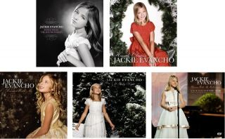 jackie evancho complete collection 5 cd 2 dvd set