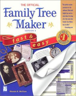 Family Tree Maker 9 PC CD Relatives Research Heritage History