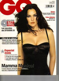 Monica Bellucci Spanish GQ Magazine 3 05 Famke Janssen