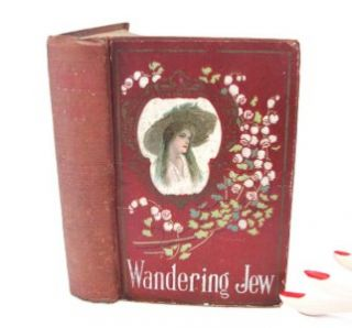 The Wandering Jew by Eugene Sue Vol 1 2 One Book Old Red Victorian