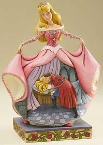 Sleeping Beauty Aurora Figurine True Loves Kiss Jim Shore NIB Disney
