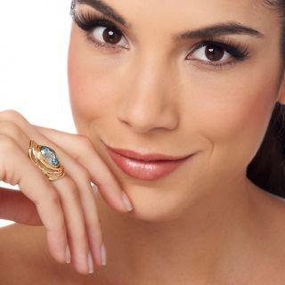 Jewelry Rings Gemstone Noa Zuman Technibond® Ripples in Water