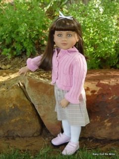 New in Box My Twinn Doll  Emily  Blue Green Eyes and Brunette Hair