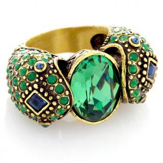 182 172 heidi daus spellbinding snake crystal ring note customer pick