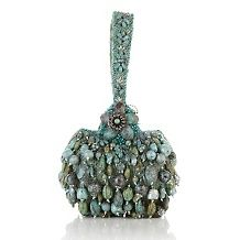 mary frances beaded heirloom wristlet bag $ 239 90