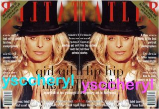 Farrah Fawcett Tatler Vogue Bazaar Cosmopolitan RARE Photo Charlies