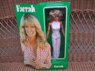 1977 Farrah Fawcett Mego Original Doll