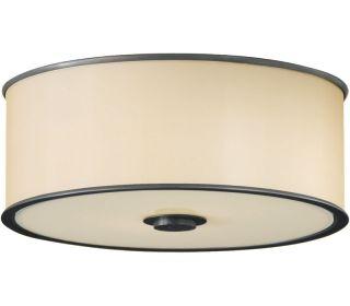 Murray Feiss FM291DBZ, Casual Luxury Flush Mount Lighting, 2 LT, 120w