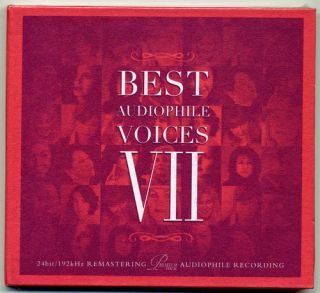 Best Audiophile Voices Vol 7 VII CD 2011 Eva Cassidy Mint
