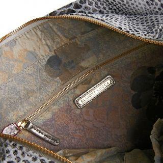 Elliott Lucca Large Pebbled Leather Tote Handbag