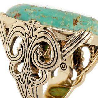 Jewelry Rings Gemstone Studio Barse Green Turquoise Bronze Ring