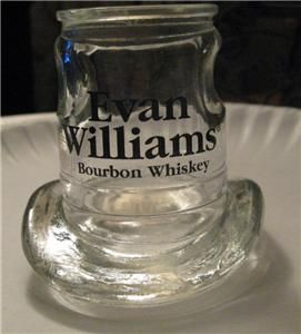 Evan Williams Bourbon Whiskey Cowboy Hat Shot Glass Mint