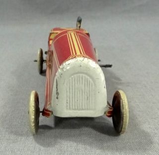 1920 German George Levy Gely Racing Racer Car Driver Clockwork Litho