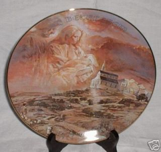 Gerald Miller The First Christmas Eve Porcelain Collector Plate 1977