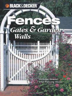 Black Decker Fences Gates Garden Walls Includes New Vinyl Fencing