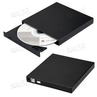 Slim USB 2 0 External CD ROM Burner Writer Drive for PC