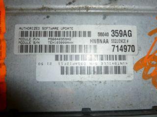 00 Dodge Dakota 4 7L 4x4 PCM ECU ECM Engine Control Unit 56040359AG