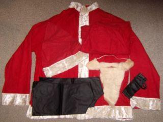 Mousleys Santa Claus Costume Extra Large Original Box HudsonS
