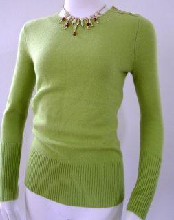 NWT FENN WRIGHT MANSON 100% 2 ply Cashmere Sweater Sizes M/XS