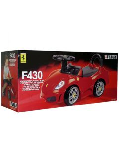 Ferrari F430 Foot to Floor Ride on New Boxed Official