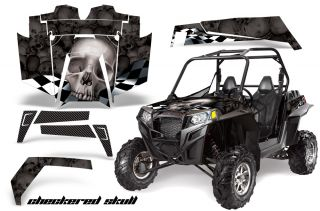 AMR Racing Graphic Wrap Kit Polaris RZR 900 900XP XP Parts Accessories