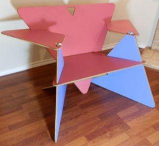Mid Century Modern Vintage Original Artist Prototype Designer Wood