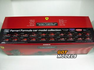 FERRARI 412 T1 F1 1994 NO.27 J. ALESI 1/64 SCALE MODEL KIT BY KYOSHO