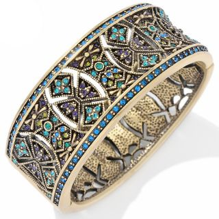 152 210 heidi daus byzantine beauty crystal bangle bracelet rating 381