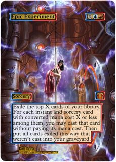 Foil Altered Art Sexy Epic Experiment Return to Ravnica RTR MTG