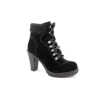 Envy Hello Womens Size 8 5 Black Regular Suede Fashion Ankle Boots