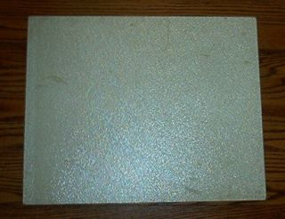 Vintage Corelle Extra Large Textured Glass Cutting Board Sandstone