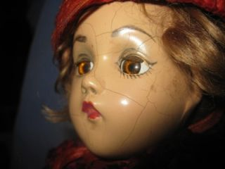 Vintage 15 Composition Wendy Face Madame Alexander Doll