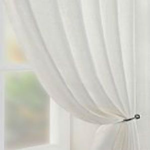 Cream Voile Net Sheer Curtain Panel Inc Extra Wide Extra Long
