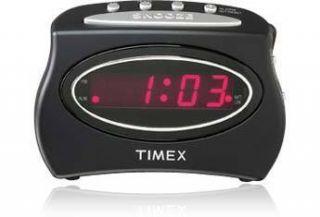 Timex Extra Loud Alarm Clock Black 5865360