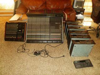 Recording Studio Equipment Professional Ramsa Digital Mixer WRT820