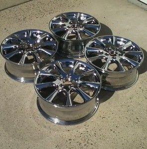 Acura Honda TSX 17 Chrome Rims Wheels