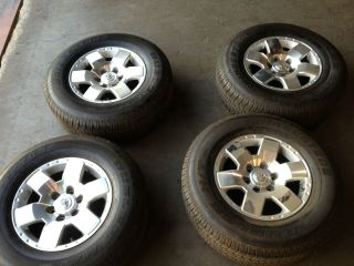 Toyota FJ Cruiser 17 Factory Wheels Tires