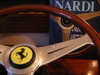 Ferrari Nardi Wood Steering Wheel 308 GTB GTS 328 GTB GTS Mondial