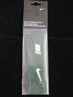 Nike Eye Vision Shield Decals New Set of 6 Pairs Green