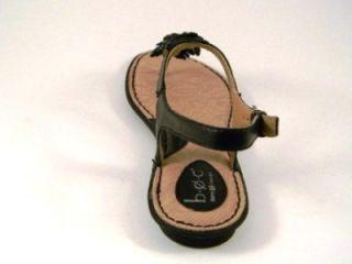 BOC Born Foxglove White or Black Leather Sandals 10 New