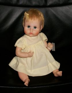 Vintage American Character Teeny Tiny Tiny Tears Doll 12 Sleepy Eyes