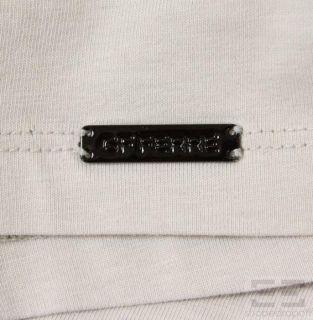 GF Ferre Mens Beige Black Zebra Print Crewneck T Shirt Size XXXL