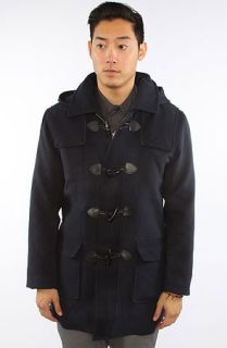 General Assembly The Duffel Coat in Navy