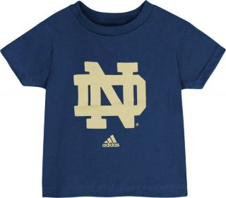 Notre Dame Fighting Irish Adidas Navy Infant Logo T Shirt