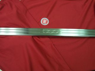 Cinquecento Fiat 500 stainless steel door sill protector guard