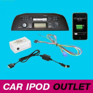 Fiat Punto Multipla Doblo Sedici iPod iPhone Adaptor Interface
